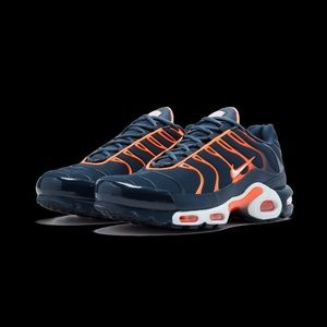 New Nike Air Max Plus Armory Navy Sneaker Shoes